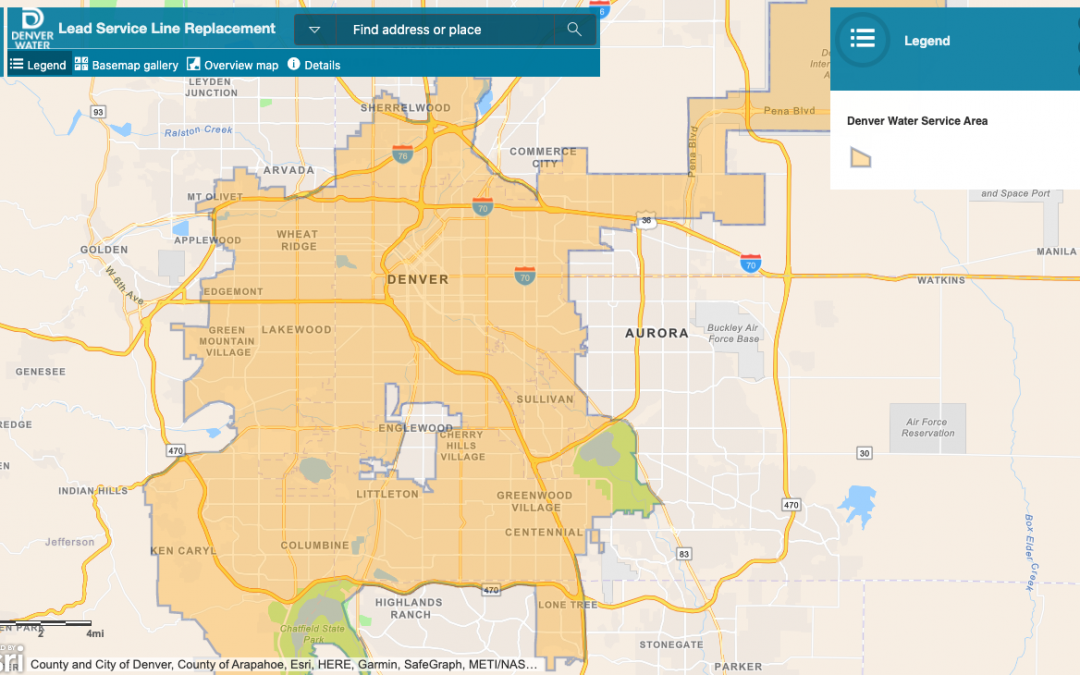 What is the Denver Water Lead Reduction Program?